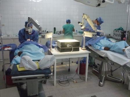 Titelbild Coina Report 2013 Oftalmologische Kampagne 2012 durch ein Augenärzte Team aus Lima